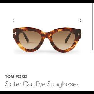 TOM FORD Slater Cat Eye Women's Sunglasses